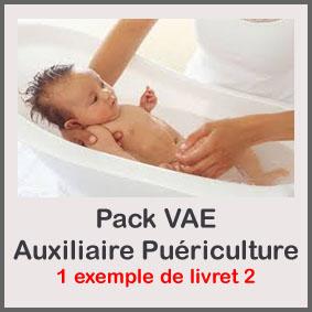 Pack Vae Auxiliaire De Puericulture Avec Livret 2