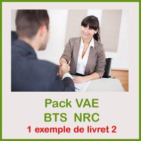 VAE bts NRC livret 2