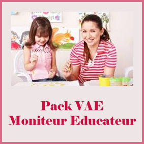 Pack VAE mONITEUR eDUCATEUR