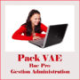 VAE Bac pro gestion administrations
